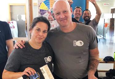 Instructeurs Jerry & Geneviéve slagen voor G3 examen in Israël